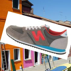 New Balance 420 women's classic leather running shoes dark grey/grey/Red Red/Blue Sky HOT SALE! HOT PRICE!