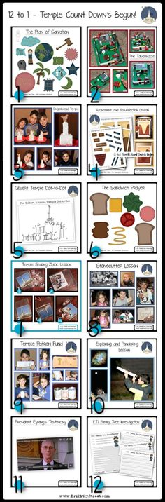 12 Family Friendly Temple Lessons and Activities in celebration of the Gilbert Arizona Temple. Download some fun visual aids to help teach your children about the temple for Family Home Evening, primary classes or youth.