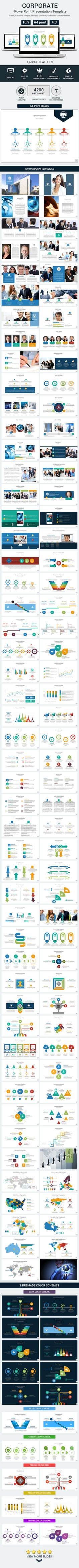 Corporate PowerPoint Presentation Template (PowerPoint Templates)