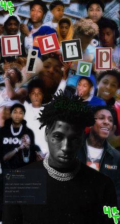wallpaper #nbayoungboy #kentrell #4kt #rapper #wallpaper #iphone #freetoedit