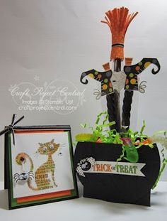 there is just something about these witch's shoes!  by LW Designs