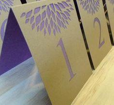 Simple Elegance Table Numbers - The Find Sac #wedding #thefindsac #weddingaccessories #tablenumbers #weddingtablenumbers