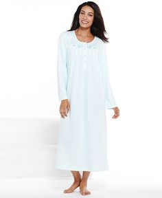 Miss Elaine Long Gown - Shop All Pajamas & Robes - Women - Macy's