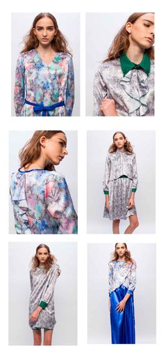 Sas and Yosh Textile patterns for fashion brand '10for1′ AW16 Collection.