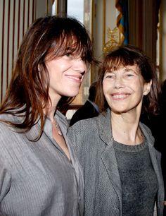 Charlotte et Jane le 19 juin 2013 #charlottegainsbourg #janebirkin