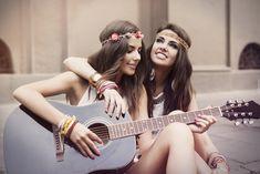 Kobiety, Biżuteria, Gitara
