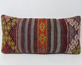 kilim pillow couch pillow cover lumbar pillow kilim cushion cover rustic bedroom turkish pillow case burlap throw pillow turkish rugs 28781