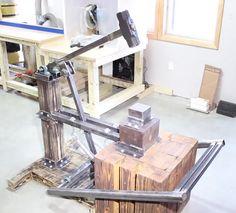 DIY Treadle Hammer.
