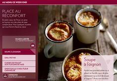 Place au réconfort - La Presse+ Best Soup Recipes, Pot Pie, Chili, Drink, Chicken Thighs, Healthy Meals, Beverage, Chili Powder, Chilis