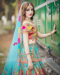 Would you love to wear all these beautiful colors on mehandi? Pakistani Wedding Outfits, Pakistani Dress Design, Pakistani Wedding Dresses, Bridal Outfits, Pakistani Mehndi Dress, Pakistani Girl, Bridal Mehndi Dresses, Bridal Dress Design, Bridal Style