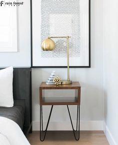 33 best modern side table images bedside table decor modern side rh pinterest com