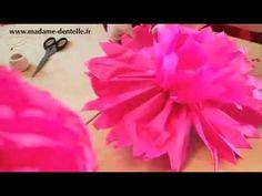 Comment fabriquer des pompons en papier de soie (tutoriel vidéo)