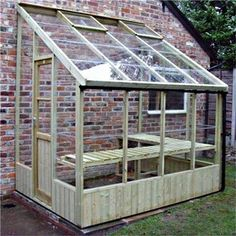 Swallow Dove Lean to Greenhouse with toughened glass. Swallow Dove wooden lean-to includes locking door, 10 Year Warranty and free installation. Greenhouse Shed, Small Greenhouse, Greenhouse Gardening, Greenhouse Wedding, Pallet Greenhouse, Portable Greenhouse, Indoor Greenhouse, Greenhouse Attached To House, Greenhouse Heaters