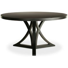 Love the curved x-base dining table detail, this is sure to make an impact