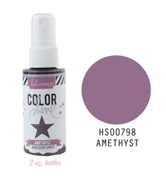 Heidi+Swapp+-+Color+Shine+Iridescent+Spritz+-+2+Ounce+Bottle+-+Amethyst+at+Scrapbook.com