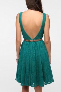 Love the back on this Lace Dress and for only $69 - sa-WEET.