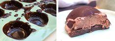 FROSNE MOCCAKULER MED MØRK SJOKOLADE Muffins, Chips, Gluten, Cookies, Party, Desserts, Food, Tailgate Desserts, Biscuits