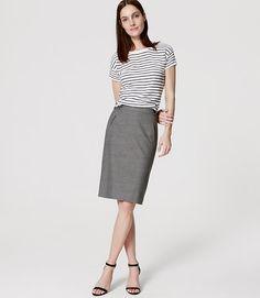 Image of Utility Custom Stretch Pencil Skirt