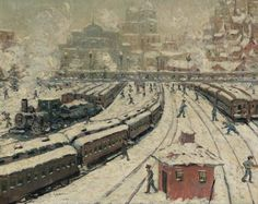 Ernest Lawson - Old Grand Central