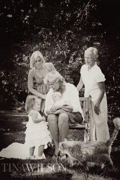 Tina Wilson, multiple generations, precious