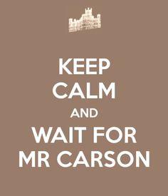 Mr. Carson!