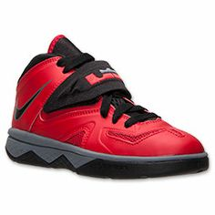 jates basketball shoes   Boys' Preschool Nike Soldier 7 Basketball Shoes| FinishLine.com | University Red/Black/Cool Grey