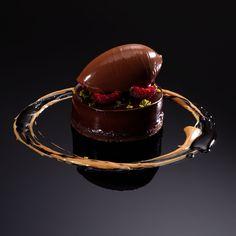 Chocolate Tart by  Oriol Balaguer