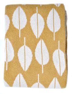 Tea Leaf Blanket