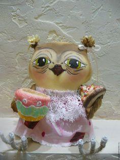 """Коллекционные куклы ручной работы. Интерьерная игрушка """"Ох,чайку бы сейчас"""". Елена Анфиногенова   (ФиФа).…"""
