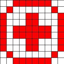 Nurse Symbol Perler Bead Pattern | Bead Sprites | Simple Fuse Bead Patterns