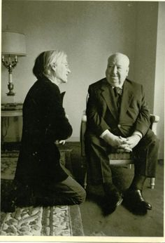 Warhol & Hitchcock. Perfection.