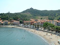 Collioure, South of France. Lovely beach and gorgeous lightning. Absolutey love Collioure and wish I old go back one more time