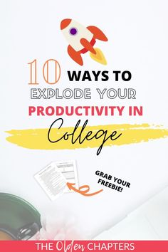 The top productivity tips for college students to start staying organized today. Check out the best inspiration and ideas for better study habits, student life hacks, planner organization, top time management tips, how to be a morning person, and countless other ideas you can do just in your dorm room. Great for all students, even those still in high school. Includes the best free printables. Read now and learn how to be productive and stay focused today. #college #study #studymotivation Student Studying, Student Life, College Students, Exam Study Tips, Study Skills, College Essentials, College Tips, College Bucket List, Study Tips For Students