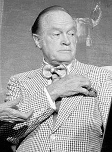 """Leslie Townes """"Bob"""" Hope,  (May 29, 1903 – July 27, 2003), was an English-born American comedian, vaudevillian, actor, singer, dancer, athlete, and author. With a career spanning over 60 years, Hope appeared in over 70 films"""