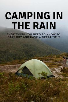 Camping in the rain presents many unique challenges that require proper planning. With our these tips, you'll not only stay dry when camping in the rain but enjoy the unique challenges that it presents you with.