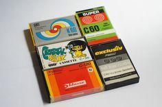 5 x Vintage & rare cassettes / Cassete Casete Casette Blank audio tape K7 / # 03