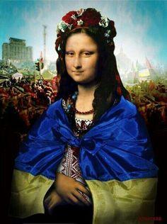 Mona Lisa Parody ok Monnalisa Kids, Mona Friends, La Madone, Mona Lisa Parody, Mona Lisa Smile, Art Jokes, Ukrainian Art, Cultura Pop, Famous Women