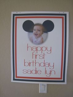 craftiness is not optional: sadie's minnie party