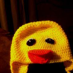 duck hat :D