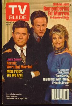 TV GUIDE 1-18-1986 NIGHT COURT/BARBARA CARRERA/EDWARD R. MURROW/WALTER MATTHAU