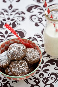 Double Dark Chocolate Cookies--the healthy version (no butter, no ...