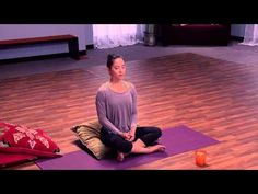 Slow down your thoughts with this yin yoga video.