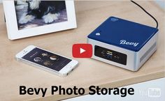 Bevy by Lineage Labs: Bevy Photo Storage Technology. Bevy is a Smart Photo System designed for families. It gives you secure access to your entire photo collection no matter where you are, inside or outside your home. Its 1TB memory holds about 400,000 photos. Hardware: Intel 2.16 GHz dual-core Celeron Processor, 2GB RaAM, 1TB Hard Drive, Built-in SD Card Slot. WiFi, Bluetooth, 4 USB ports, Ethernet.a