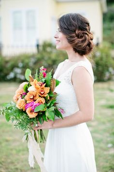 twisted updo hairstyle | Shannon Morse Photography