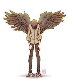Wings For Falling by SarahCulture on DeviantArt