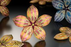 Elise Winters polymer clay flower