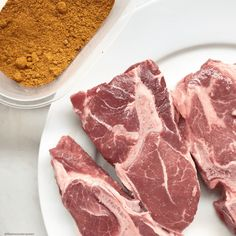 Lamb, spices, and a few vegetables are all you need for this simple slow cooker recipe. Combined these ingredients bring Morocco to your kitchen. Charcuterie, Lamb Chops Slow Cooker, Moroccan Spices, How To Make Sausage, Smoking Meat, Slow Cooker Recipes, Food Porn, Food And Drink, Sausages