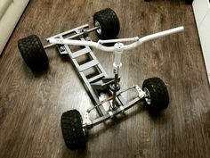 Bar stool kart chassis