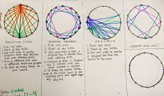 Cassie Stephens: In the Art Room: A String-Stitched Dot for Dot Day!