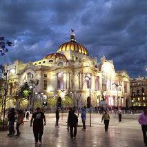 Palacio de Bellas Artes, Alameda Central, Mexico DF. Griselda Jimenez